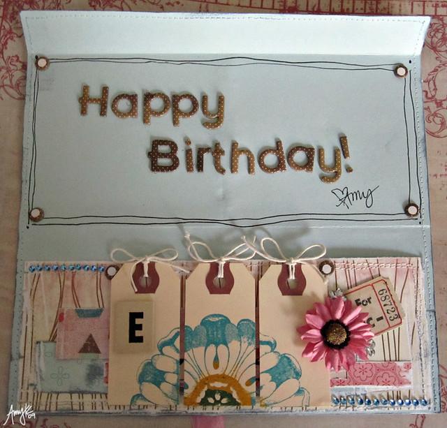 Free Birthday Money ~ Happy birthday money holder my sister wanted to get a pedi flickr