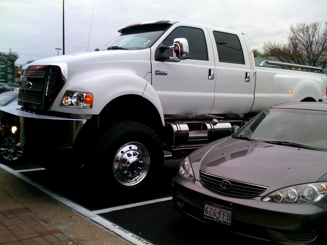 giant pickup truck - giant pick up truck  I came into work one day to discover t…  Flickr