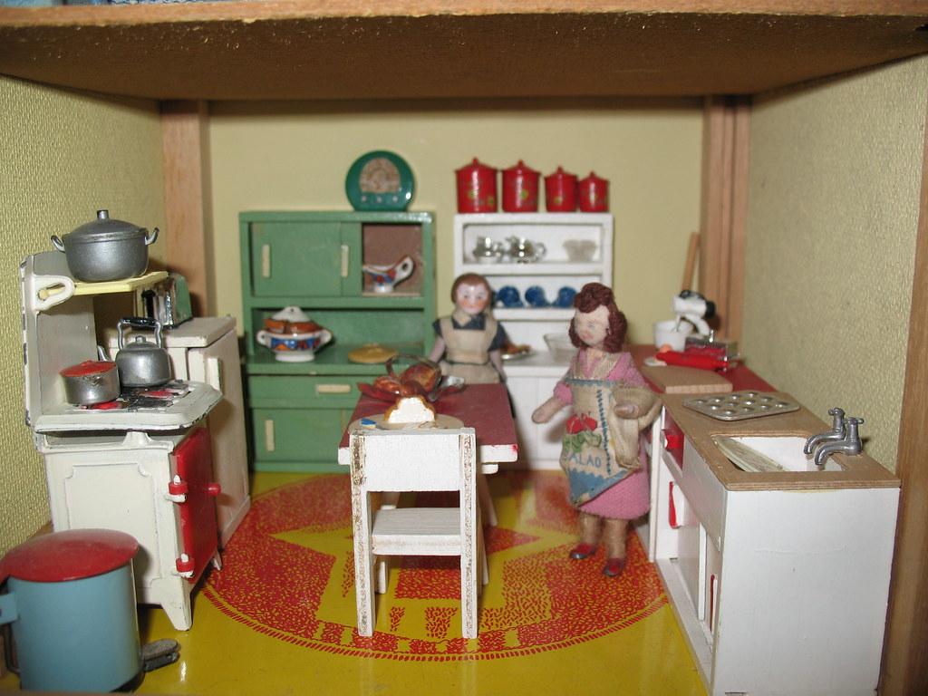Dolls House Kitchen Chairs