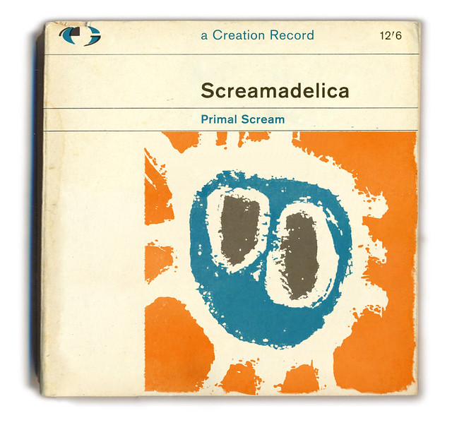 Make A Penguin Book Cover : Primal scream screamadelica classic records lost in