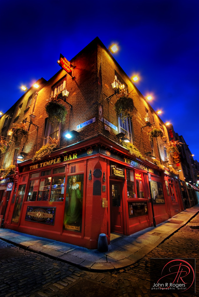 The Temple Bar Dublin Ireland This Past Summer My Son