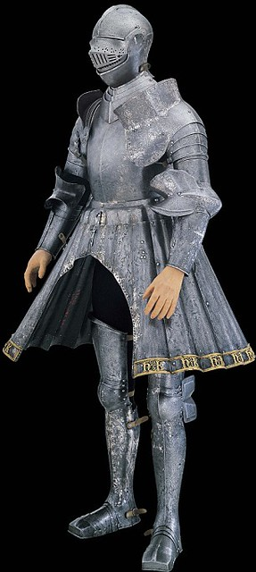 Henry Viii S Jousting Armor With Intertwined Hs And Ks To