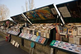 book market on the Seine | by orangebrompton