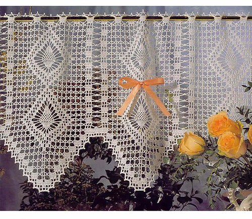 free crochet lace curtain patterns Flickr - Photo Sharing!