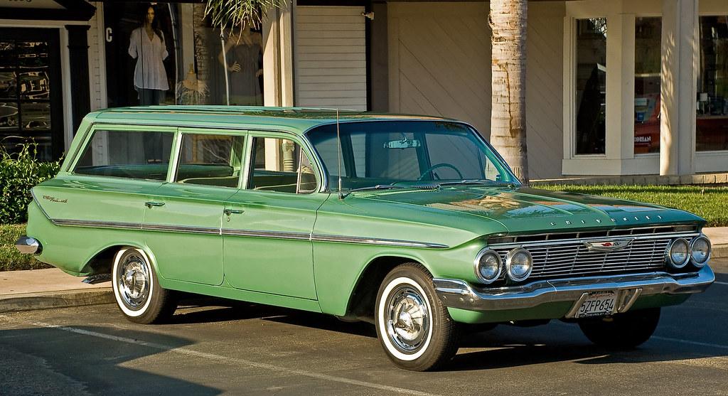 1961 Chevy Parkwood Wagon William Hamilton Flickr