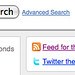 Twitter search results feed api