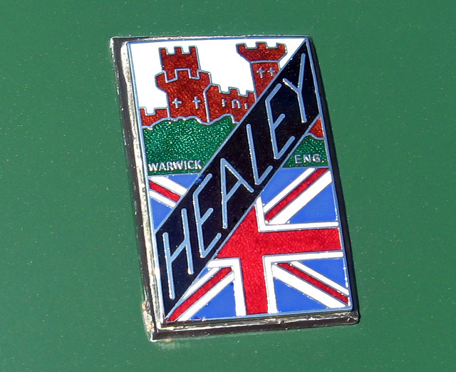 1950 Healey Silverstone Healey Badge The Donald Healey Mot
