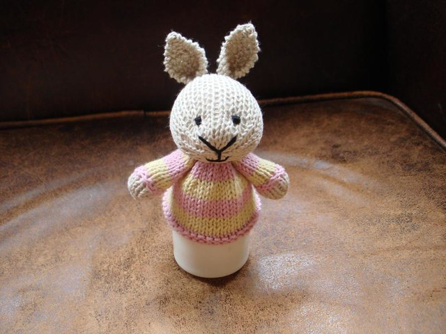 Easter Bunny Egg Cosy One Down One To Go Made From Th Flickr