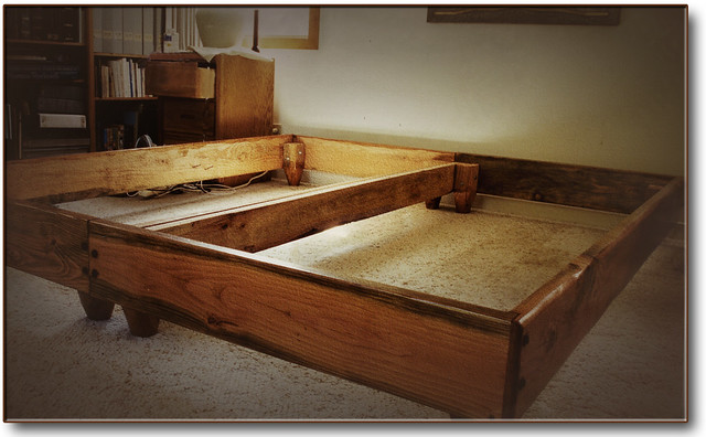 how to make a japanese platform bed