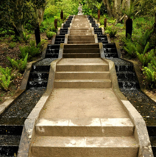 water steps at Holker Hall | by neil1877