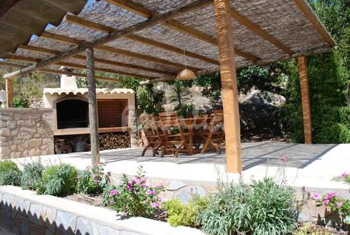Casa de campo ibicenca terraza estupenda casa t pica for Terraza dela casa