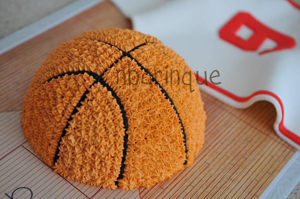 Make A Basketball Jersey Cake