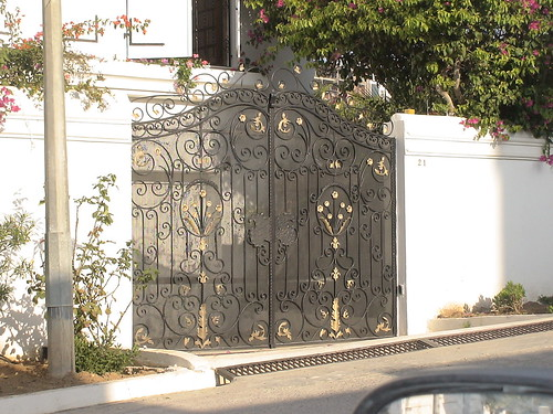 Porte ext rieure en fer forg tunis flickr photo sharing for Porte en fer forge exterieur