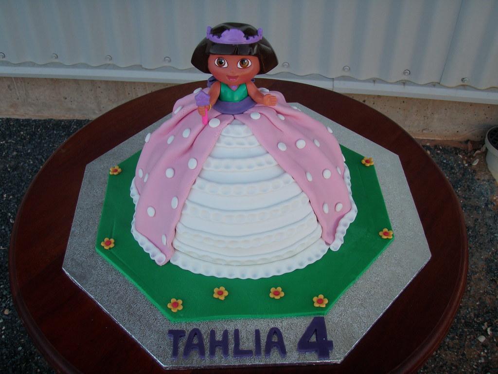 Mossy's Masterpiece - Tahlia's Dora Princess