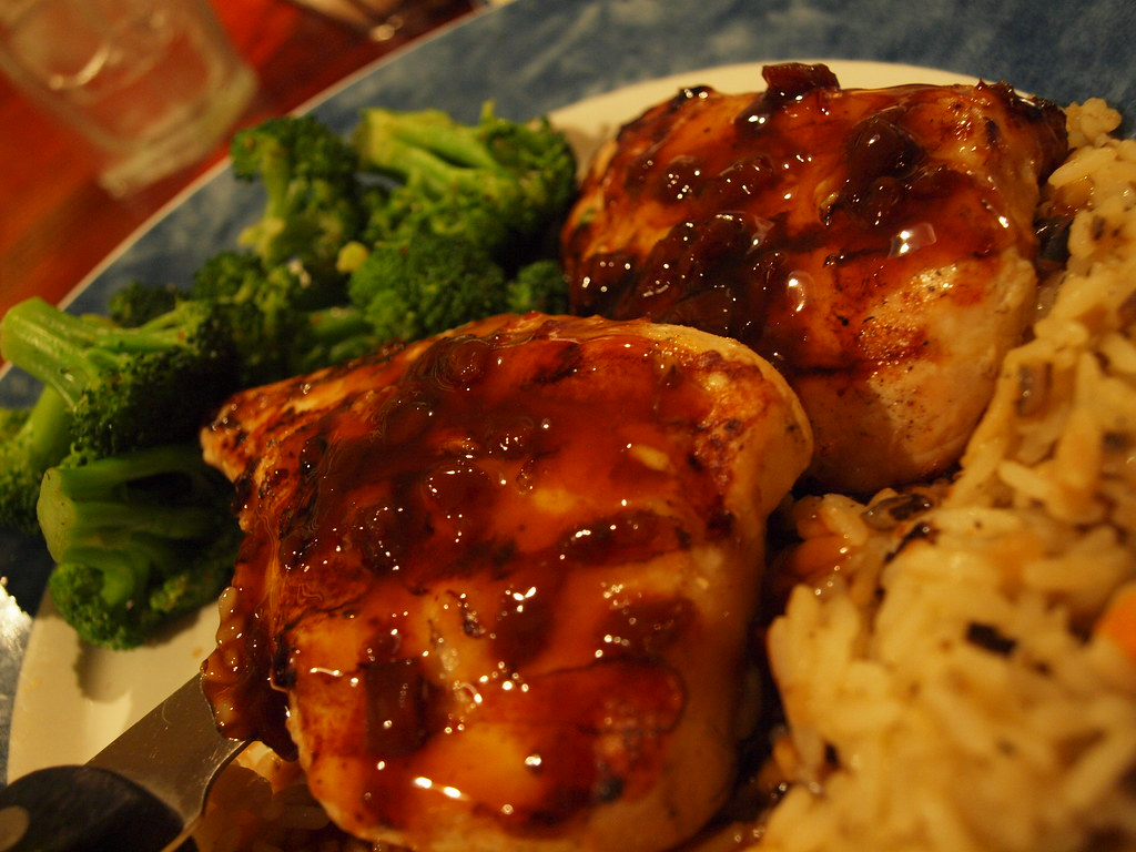 Maple Glazed Chicken | It was ok. from red lobster.. hmmm to… | Flickr