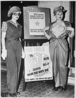 Safety Garb for Women Workers, ca. 1943 | by The U.S. National Archives