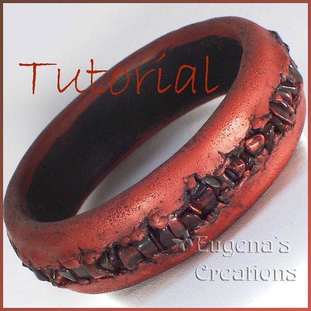 Polymer clay bracelet tutorial braccialetto pulsera con.