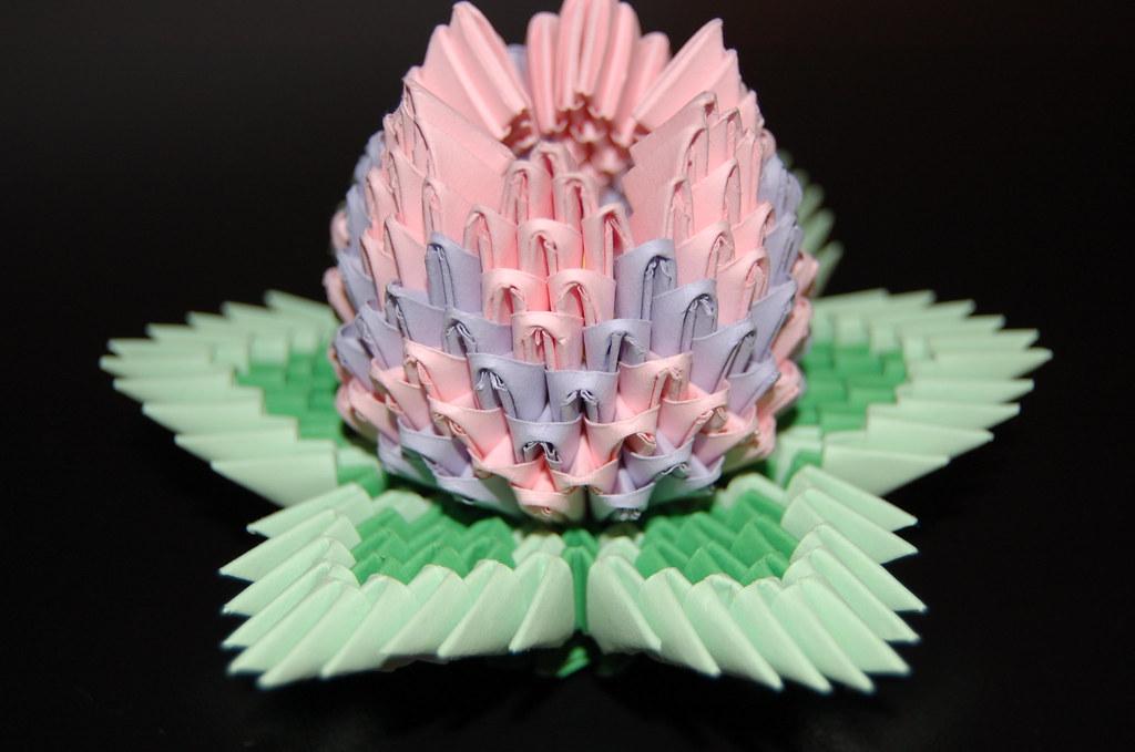 excellent origami fleur de lotus with origami fleur de lotus. Black Bedroom Furniture Sets. Home Design Ideas