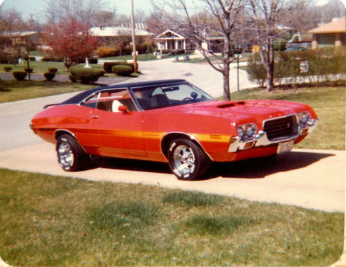 1972 Ford Gran Torino Sport,spring 1976 | Flickr - Photo ...