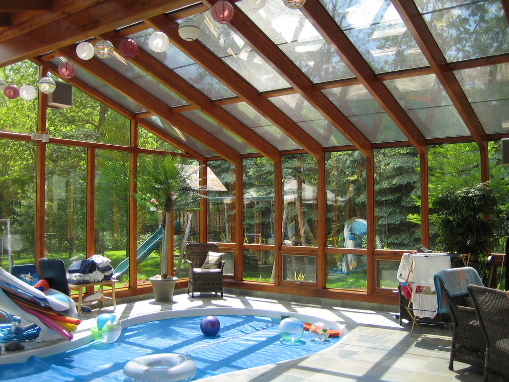 Lindal indoor pool sunroom make your own family get away for Design my own pool