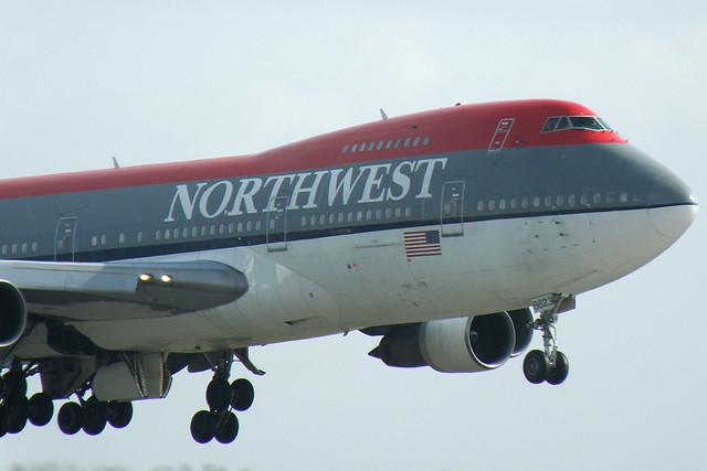 northwest airlines - boeing 747-200