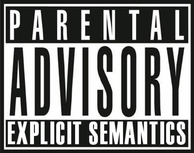 parental advisory explicit semantics via micheldumontie flickr