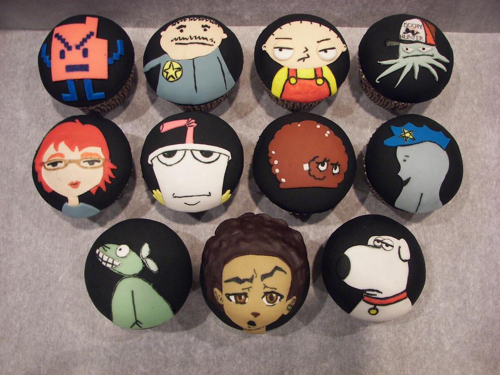 My Adult Swim Birthday Cupcakes Vanilla Honey Poundcake