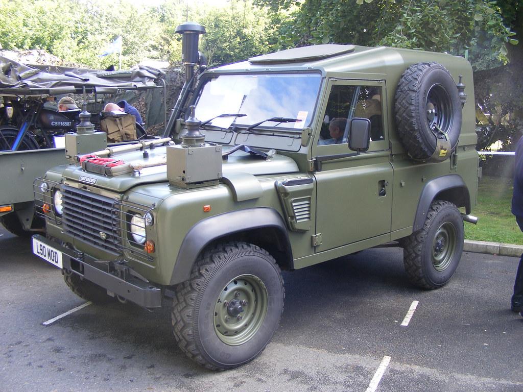 White Land Rover >> Land Rover HS WOLF TUL FFR L90MOD Durham Light Infantry Mu