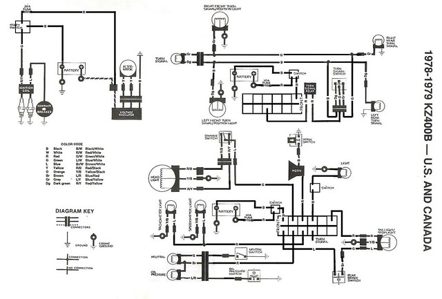 1978 kz400 rewire full wiring diagram for complete rewire flickr rh flickr com  1978 kawasaki kz400 wiring diagram