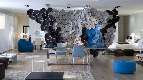 clouds exhibit ligne roset paris showroom flickr photo sharing. Black Bedroom Furniture Sets. Home Design Ideas
