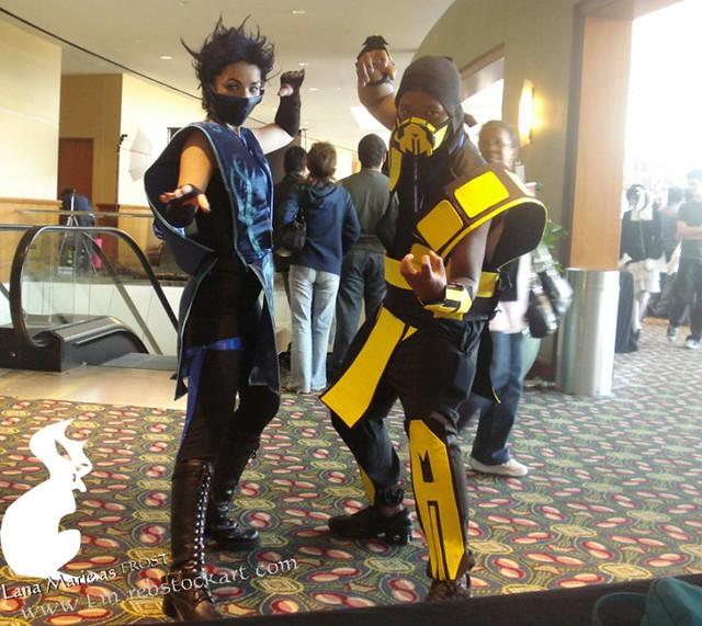 Mortal Kombat (Costumes Both Mad