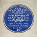 Earl Mountbatten of Burma Blue Plaque. Wilton Terrace Knightsbridge London