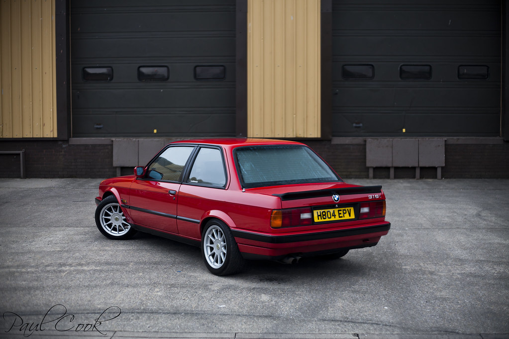 Brilliant Red E30 Bmw Cook24v Flickr