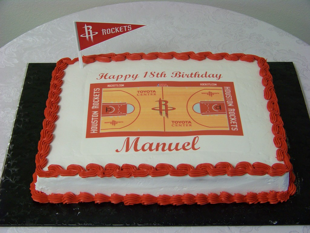 Basketball Birthday Cake Pan