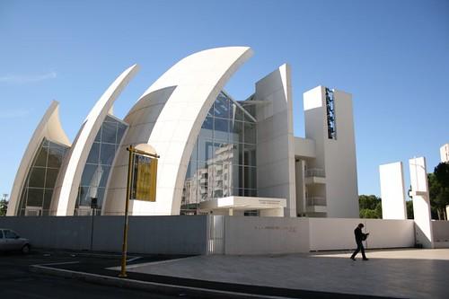 Richard meier jubilee church grazia flickr for Richard meier opere