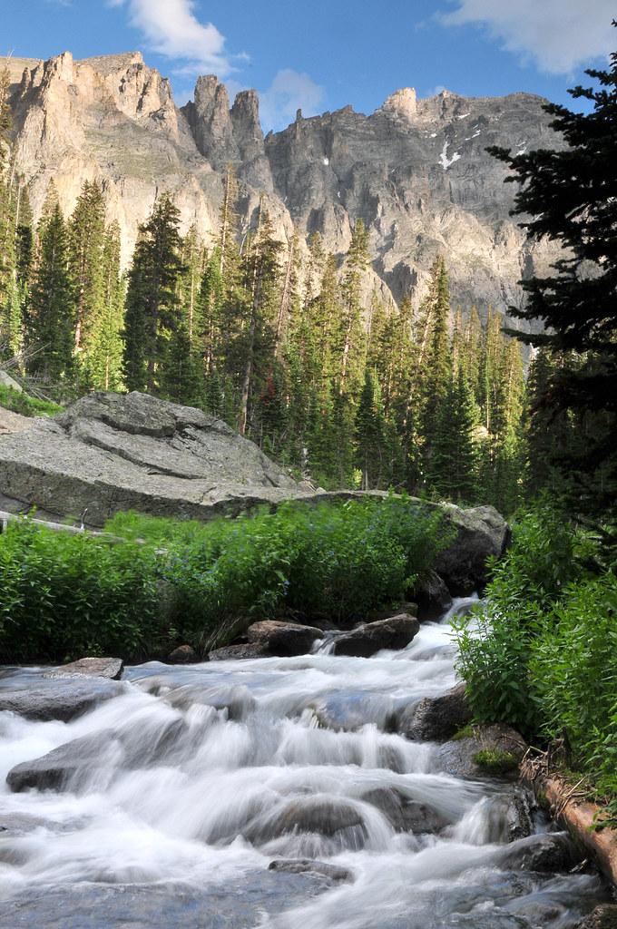 rocky mountain creek wallpaper - photo #9