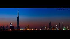 Dubai Skyline :: Blue Hour