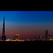 Dubai Skyline :: Blue Hour
