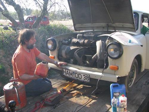 trabant engine run mrannen1958 flickr. Black Bedroom Furniture Sets. Home Design Ideas