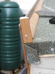 6 Fix arris rail and facia board