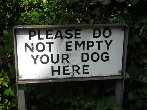 What a funny sign this is! | by Gene Hunt