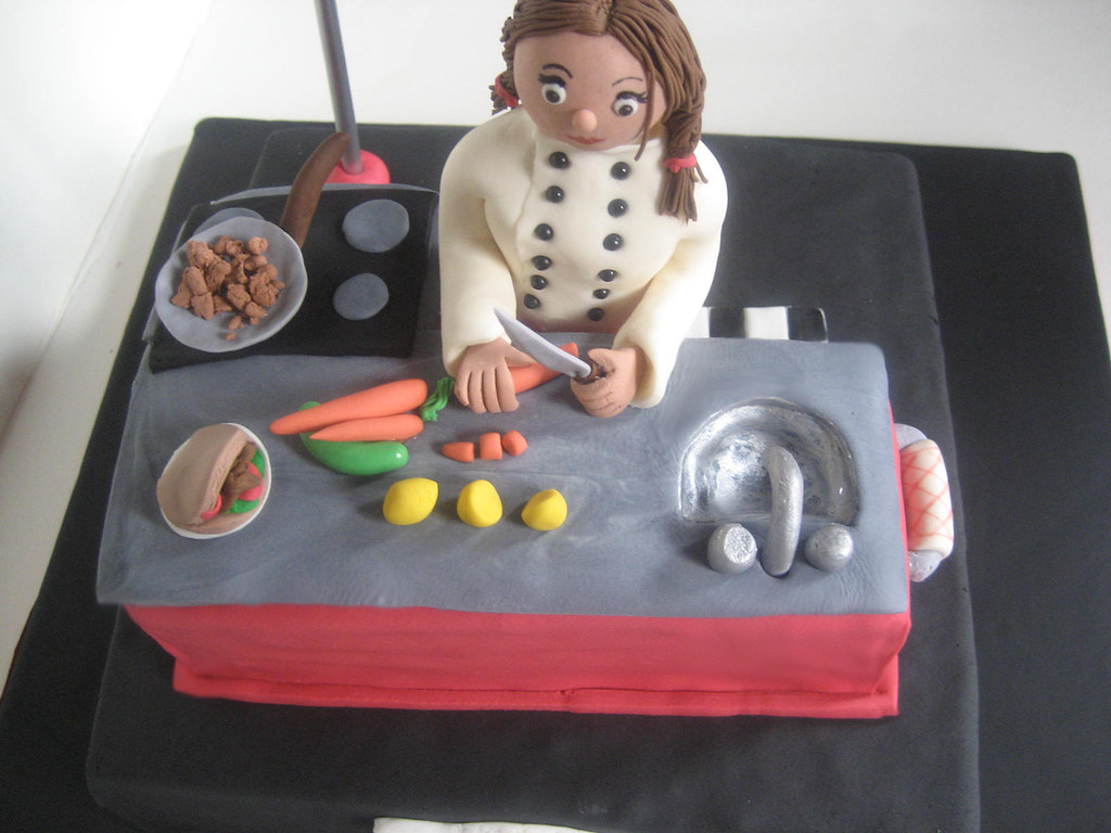 Images Of Chefs Birthday Cake