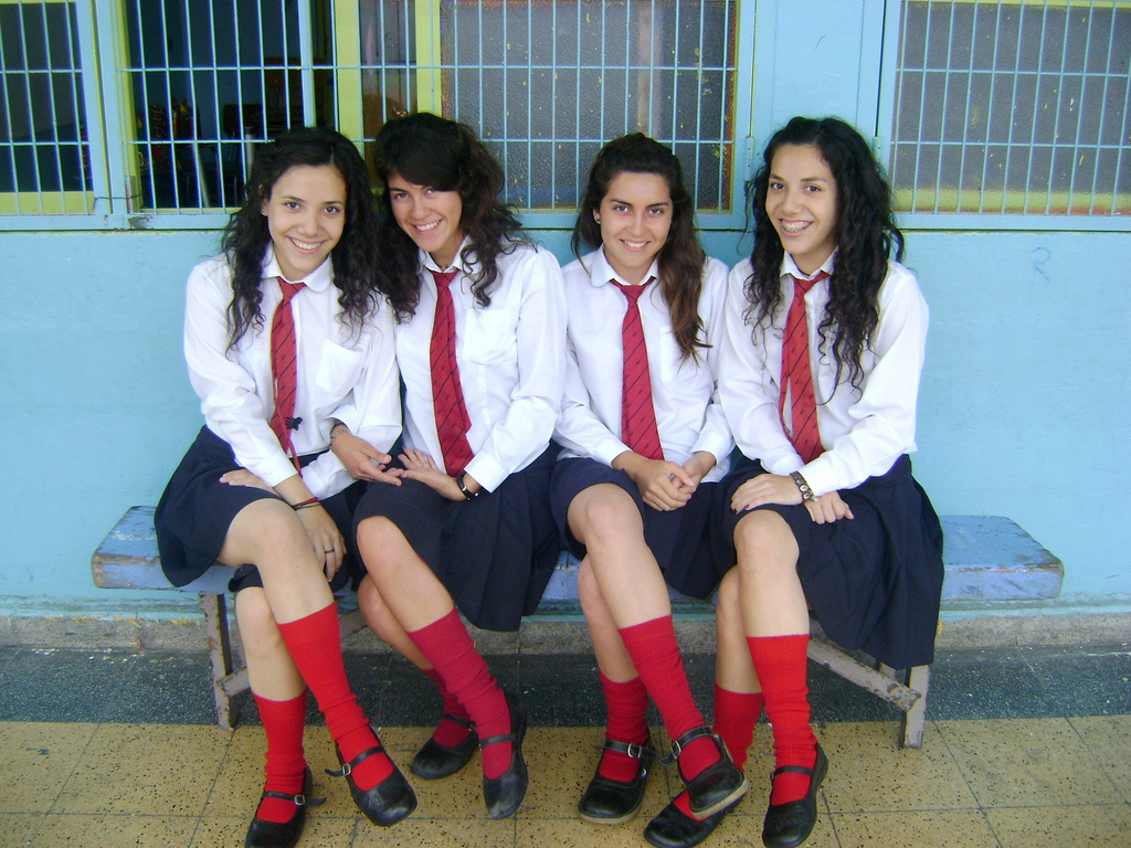 Christian School Girls  These Good Christian School Girls -2281