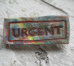 Urgent | by ovenfried_beads