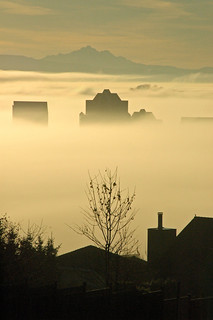 Foggy morning in Coquitlam, BC | by EWP2009