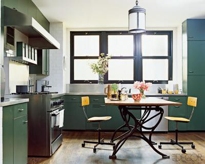 Nate Berkus 39 S Vintage Kitchen Featured In Elle Decor Flickr