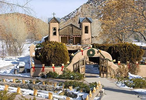 New Mexico at Christmas 2