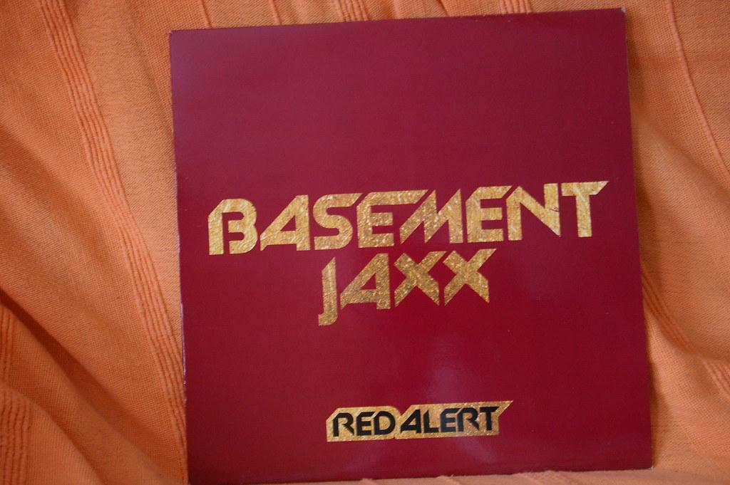 """Basement Jaxx - Red Alert 12"""" XL Recordings"""