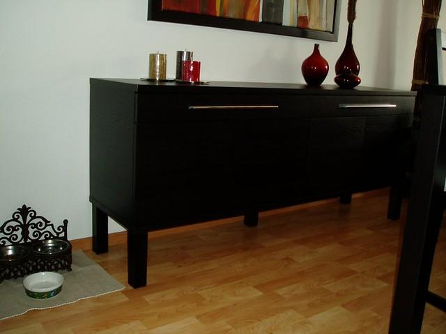 sideboard ikea bjursta flickr. Black Bedroom Furniture Sets. Home Design Ideas