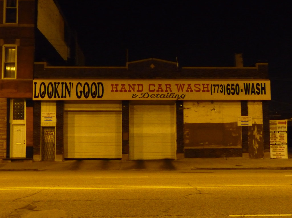lookin 39 good hand car wash detailing sign john kannenberg flickr. Black Bedroom Furniture Sets. Home Design Ideas